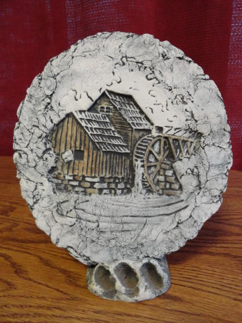 watermill made of clay