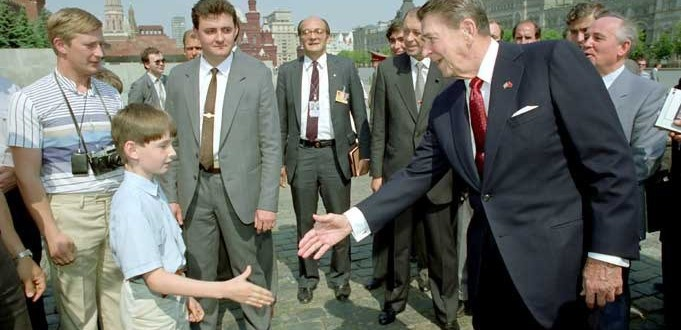 reagan and putin