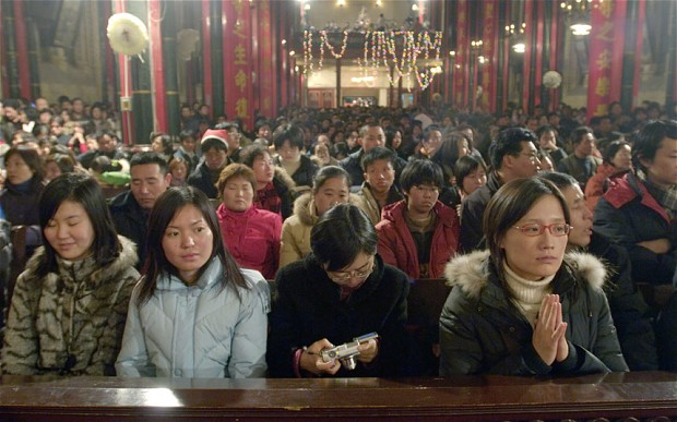 china christianity