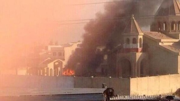 isis destroys 1800 hundred year old church
