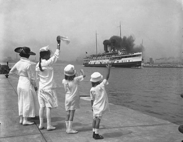 toronto ferry 1910
