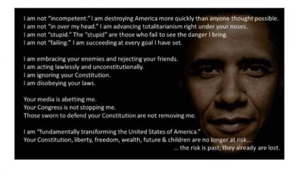 obama and the constitution