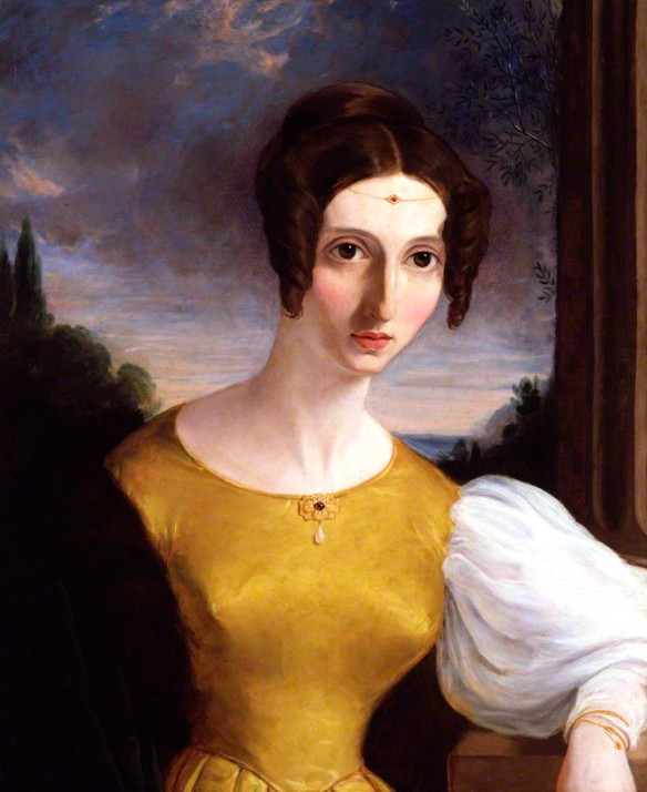 NPG 5489; Harriet Mill by Unknown artist