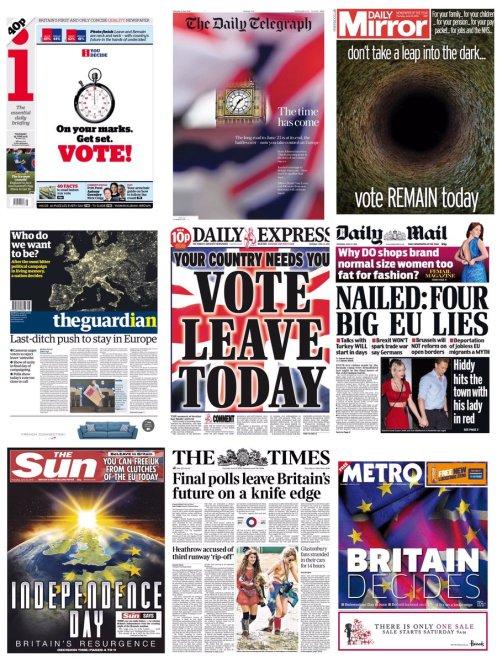 brexit headlines