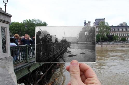 paris floods 1910 2016