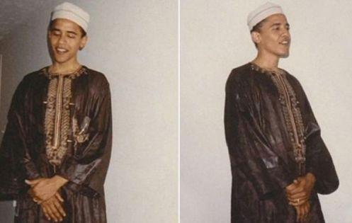 obama muslim clothes