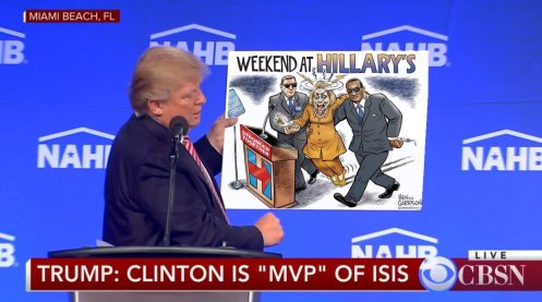 trump hillary stronger together