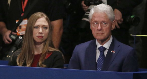 bill-and-chelsey-at-the-debate