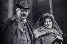 The woman beside the man, Frances Chesterton